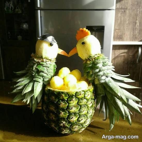 مدل های متفاوت از تزئین آناناس
