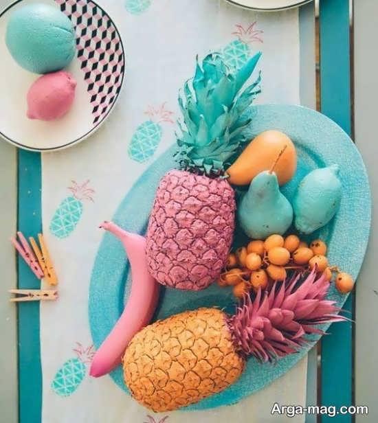 مدل های متنوع از تزئین آناناس