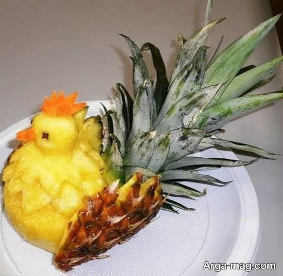 مدل های خاص از تزئین آناناس