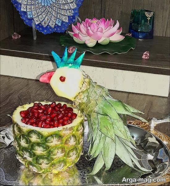 ایده های خلاقانه برای تزئین آناناس