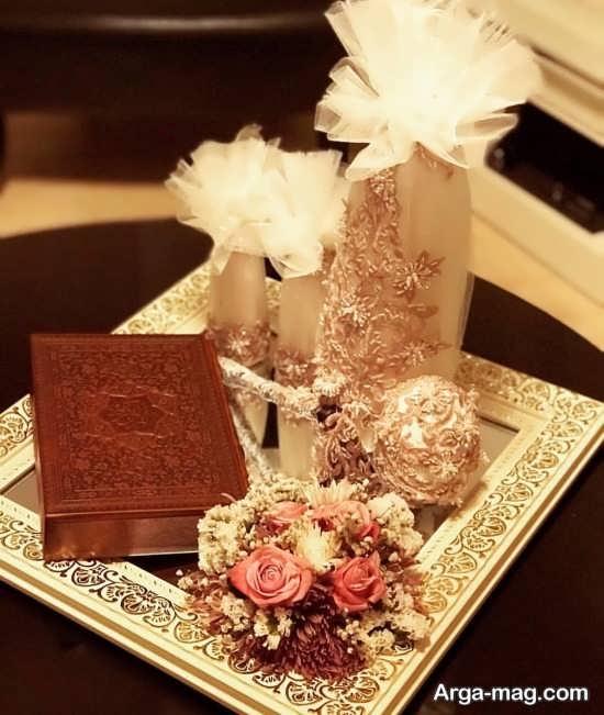 متفاوت ترین تزئین قرآن برای بله برون