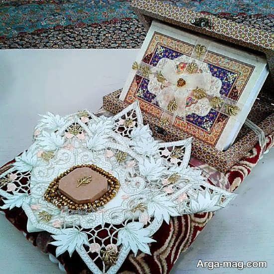 تزئین قرآن برای بله برون با ایده های جدید