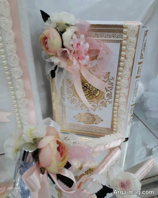 انواع تزئین قرآن برای بله برون
