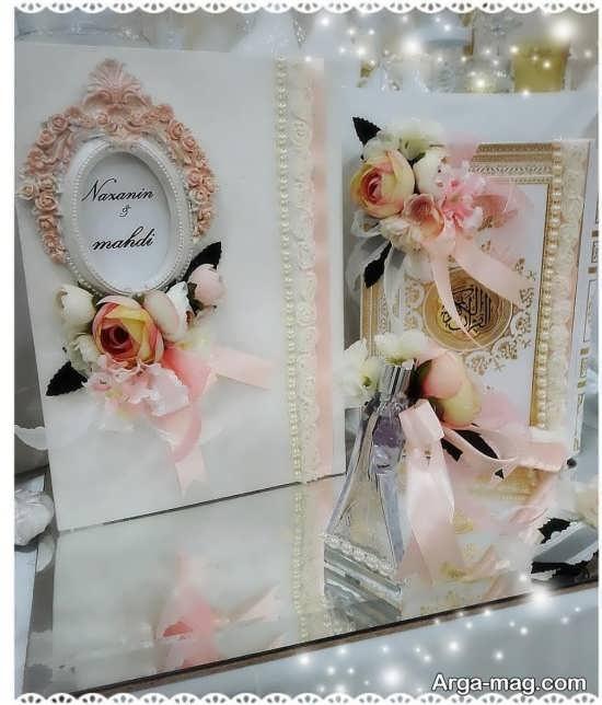 تزئینات زیبای قرآن برای بله برون