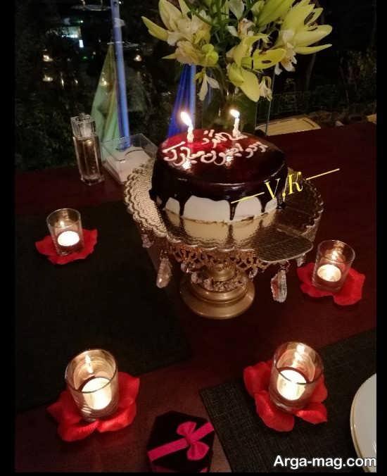 تزیین برای میز سالگرد ازدواج