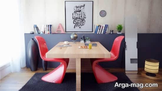 میز کار با طراحی شیک