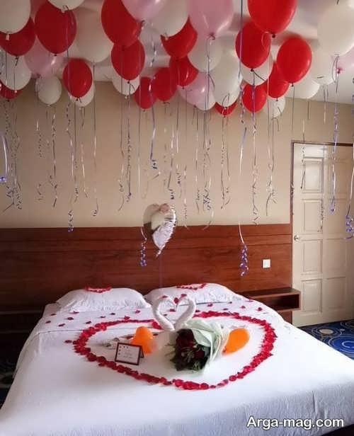 دکوراسیون زیبا و شیک اتاق خواب عروس
