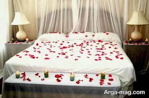 تزیین خلاقانه اتاق خواب عروس