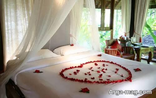 تزیین زیبا و شیک اتاق خواب عروس