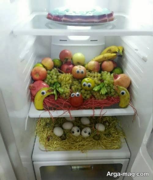 تزیین خلاقانه یخچال عروس