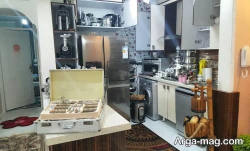 طراحی دکوراسیون آشپزخانه نوعروس