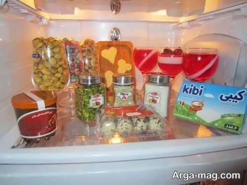 تزیین یخچال نوعروس