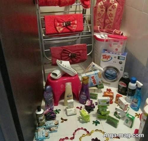 تزیین زیبا و بی نظیر سرویس بهداشتی عروس