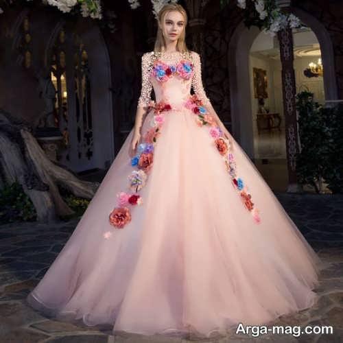 لباس پرنسسی زیبا و خاص