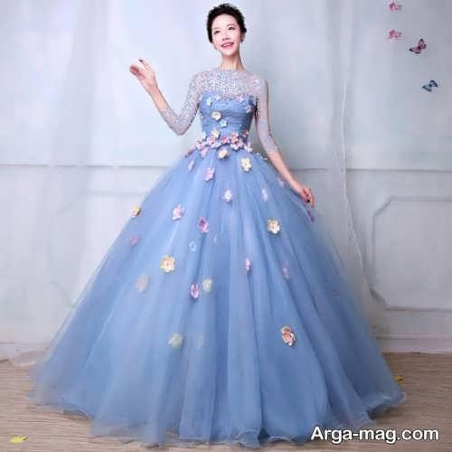 مدل لباس نامزدی کار شده