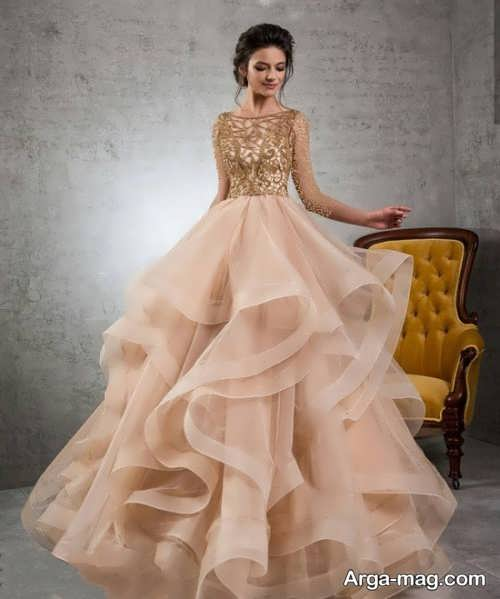 مدل لباس پرنسسی زیبا و خاص