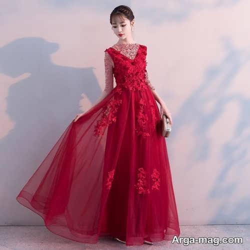 لباس نامزدی قرمز