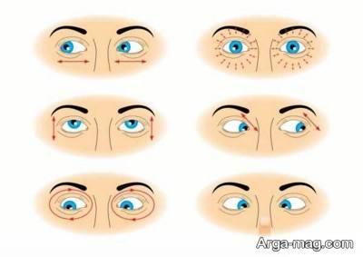 انجام تمرینات چشمی برای رفع خستگی چشم