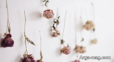 آویزان کردن گل