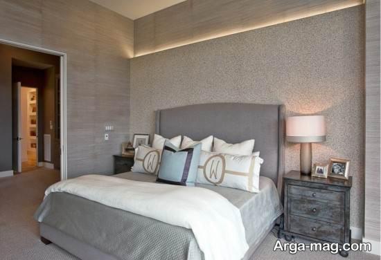 دیزاین اتاق خواب خاکستری