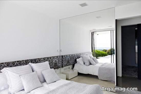 طراحی اتاق خواب خاکستری