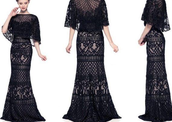 لباس مجلسی گیپور دخترانه