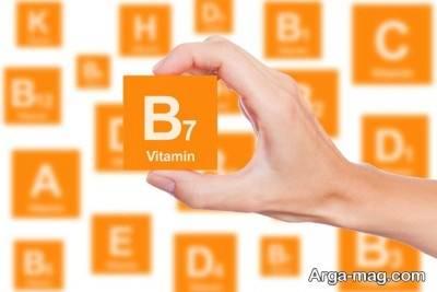 مصرف ویتامین ب7 برای رشد مجدد مو