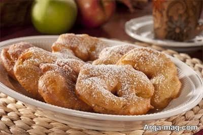 روش تهیه دونات سیب