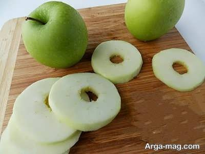 آموزش دونات سیب