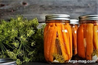دستور تهیه ترشی هویج