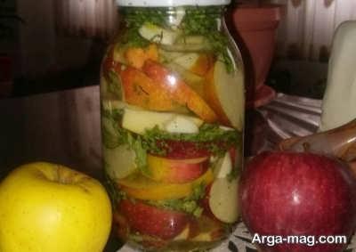 روش تهیه ترشی سیب