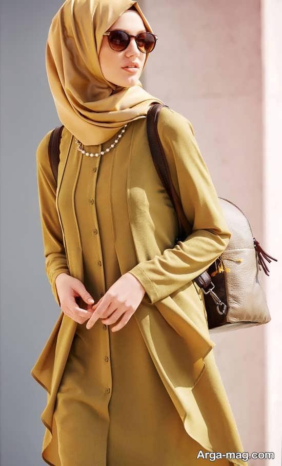 جذاب ترین مدل مانتوی اسلامی
