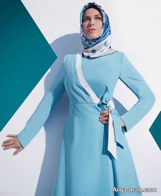 مدل مانتوی اسلامی با طرح های خاص