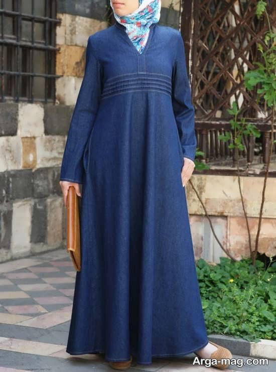 مدل مانتوی اسلامی با رنگ های شیک