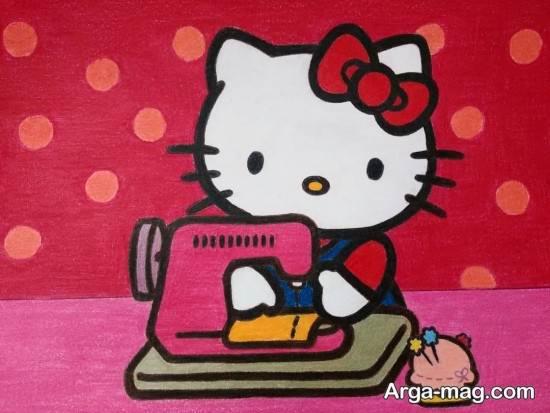 رنگ آمیزی دوست داشتنی کیتی