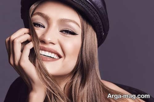 مدل میکاپ زیبا و لایت دخترانه