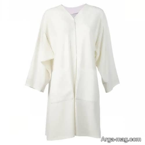 مدل مانتو کیمونو سفید