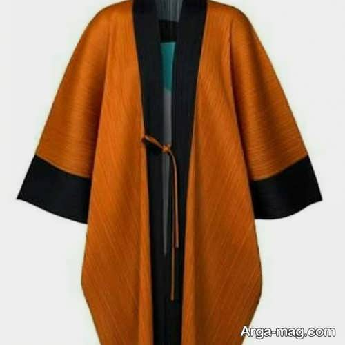 مانتو کیمونو رنگی