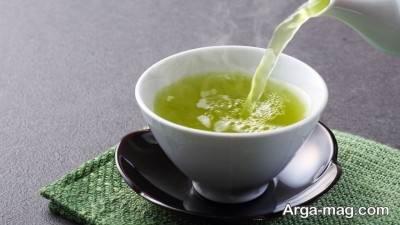 درمان طبیعی سردرد با چای سبز