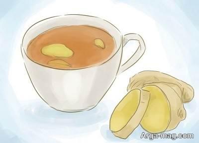 درمان طبیعی سردرد با زنجبیل
