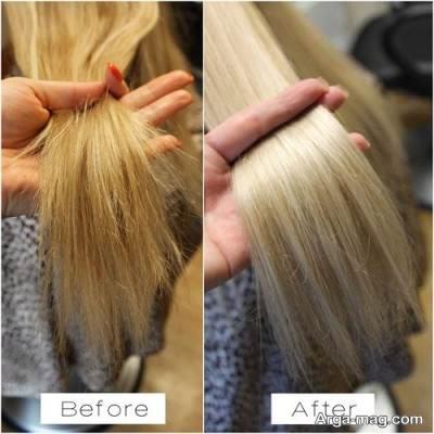 دکلره کردن مو بدون آسیب به مو