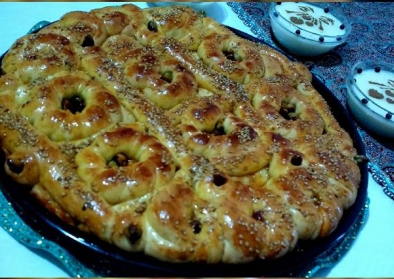 طرز تهیه نان رمضان