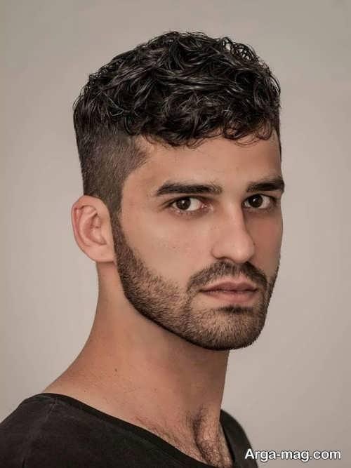 مدل موی فر کوتاه مردانه