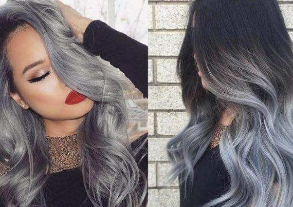 رنگ موی دودی خاکستری