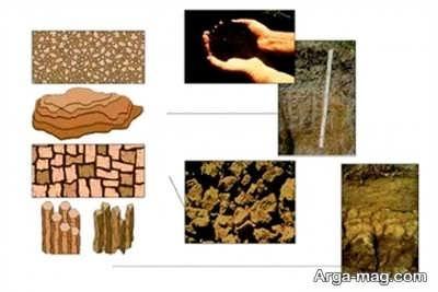 نحوه فرسایش سنگ ها و ایجاد خاک