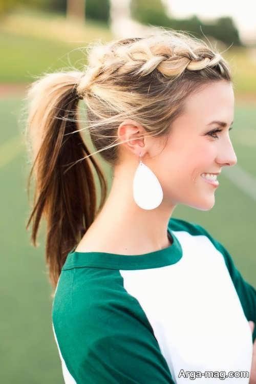 مدل موی دخترانه اسپرت