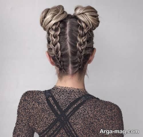 مدل موی بسته دخترانه