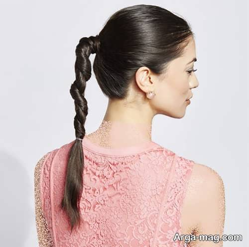 مدل موی زیبا و متفاوت دخترانه