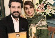 امیر حسین مدرس و همسر لاکچری