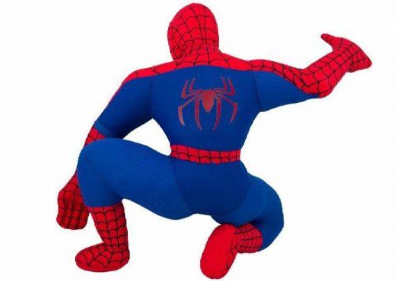 نقاشی مرد عنکبوتی با الگوهای خاص